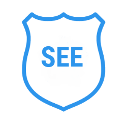 OFFICIAL SEE badge