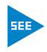 SEE triangle logo